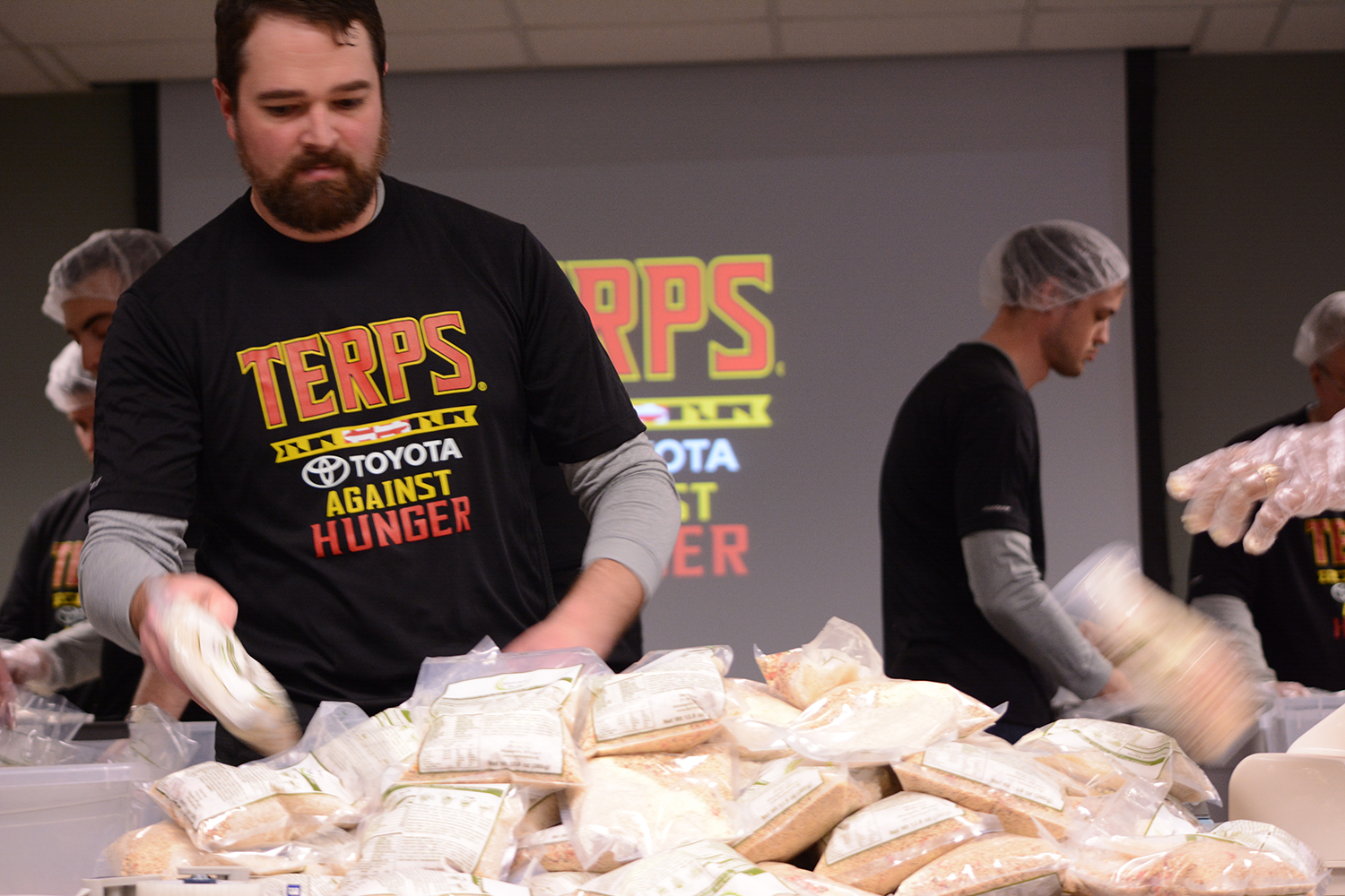 Glen Burnie East: Toyota office teams up with Terps to combat hunger