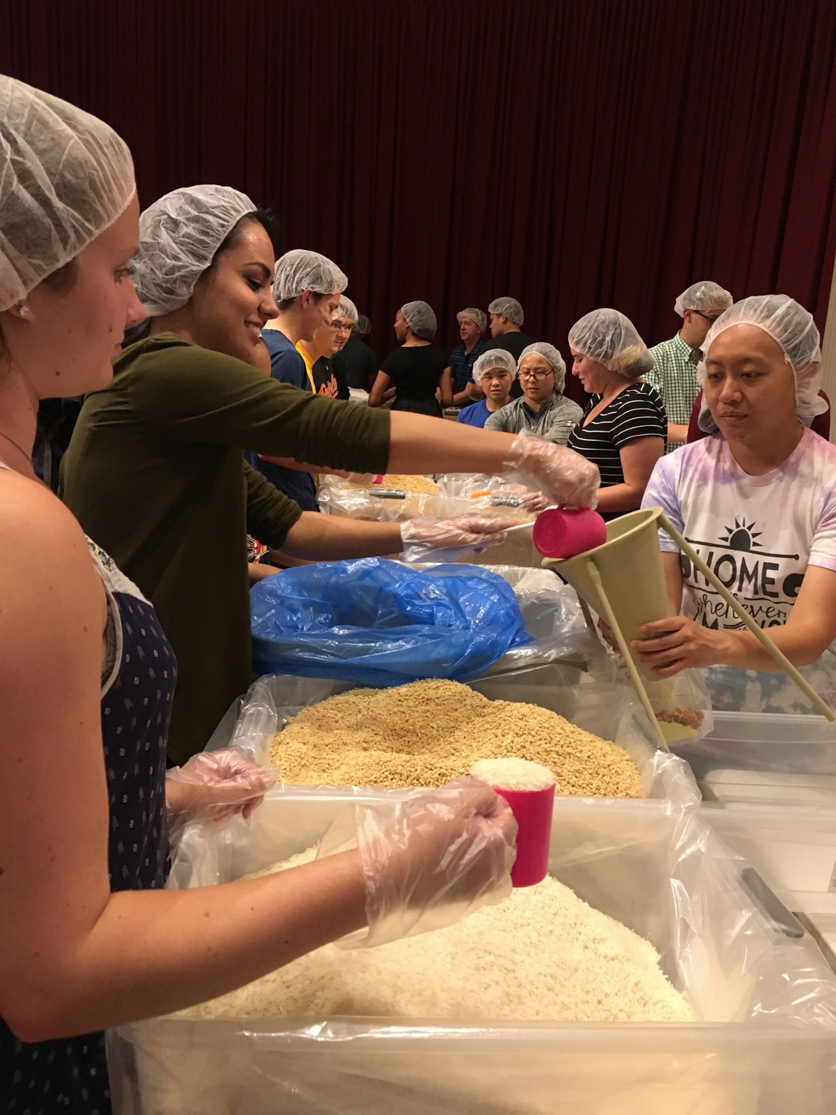 Terps Against Hunger and Memorial Chapel aim to make 20,000 meals for families in need